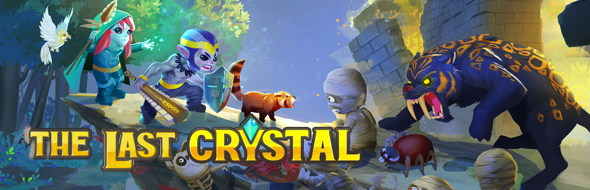 The Last Crystal — Co-op Adventure Game — Kickstarter and demo release!