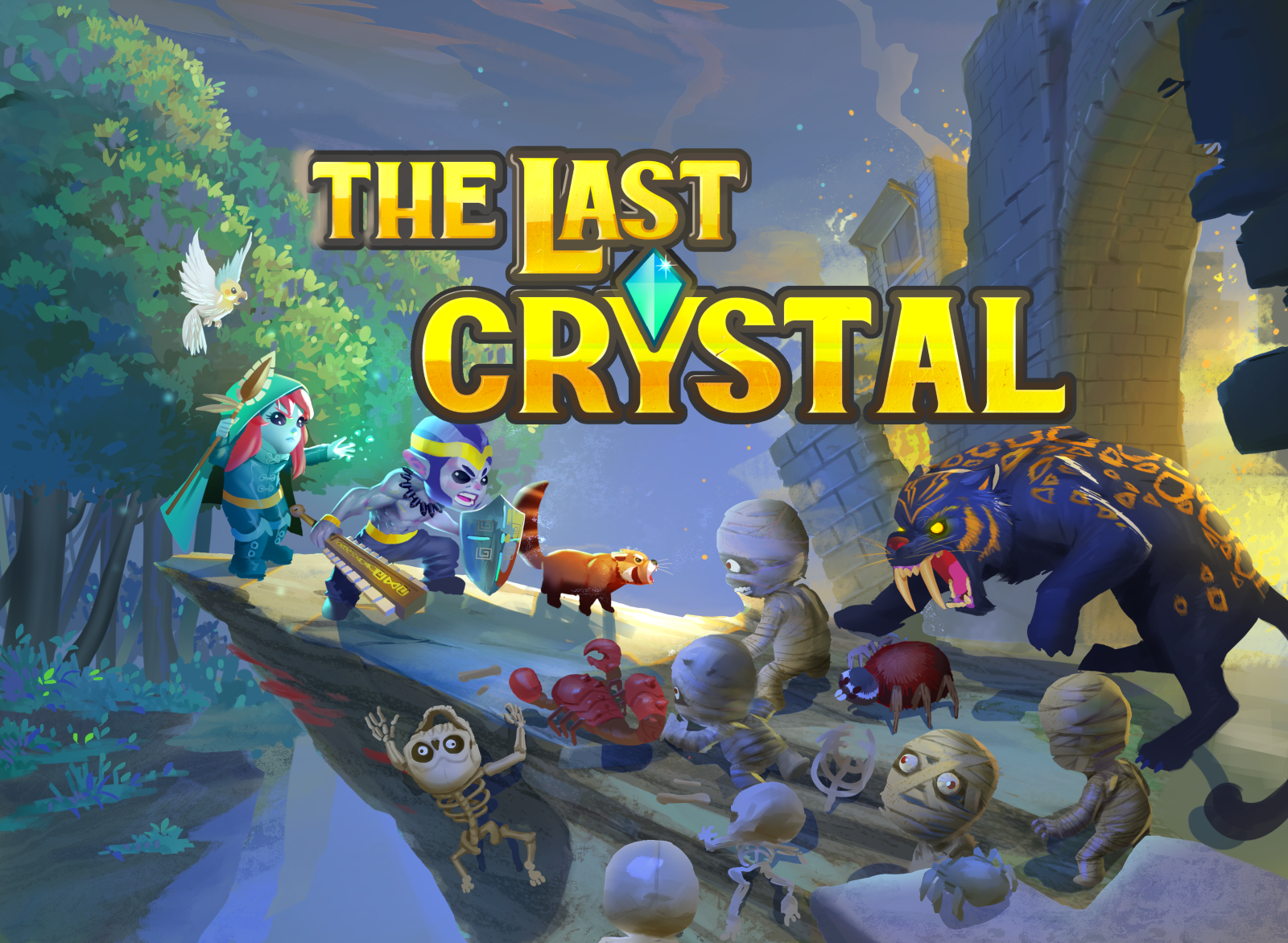 The Last Crystal—Co-op Adventure Game—Kickstarter and demo release!
